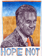 Election Digital Art Posters - Hope Not Poster by Jeff Wheeler