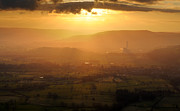 Castleton Prints - Hope Valley Sunrise, Mam Tor, Peak District Print by Chris Hepburn