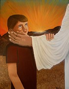 Child Jesus Paintings - Hope by Victoria Rhodehouse