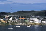 Hopedale Framed Prints - Hopedale, Newfoundland & Labrador Framed Print by Jerry Kobalenko