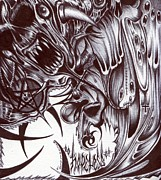 Evil Drawings Originals - Hopeless by Archie Snider