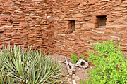 Hopi Prints - Hopi House Garden Print by Julie Niemela