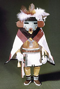 Kachina Posters - Hopi Kachina Doll Poster by Granger