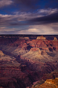 Shadow Metal Prints - Hopi Point - Grand Canyon Metal Print by Andrew Soundarajan
