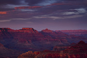 South Rim Prints - Hopi Point at Sunset Print by Andrew Soundarajan