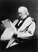 Horace Prints - Horace Greeley 1811-1872, Photograph Print by Everett