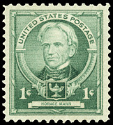 Educator Posters - Horace Mann (1796-1859) Poster by Granger