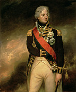 Uniformed Paintings - Horatio Viscount Nelson by Sir William Beechey