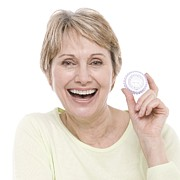 Healthcare And Medicine Art - Hormone Replacement Therapy Pills by
