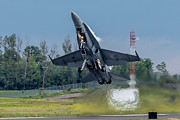 Airshows Photos - Hornet Power by Bill Lindsay