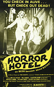 1960s Poster Art Framed Prints - Horror Hotel, Aka City Of The Dead Framed Print by Everett