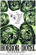 1960s Poster Art Posters - Horror Hotel, Aka The City Of The Dead Poster by Everett
