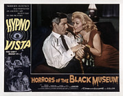 1959 Movies Framed Prints - Horrors Of The Black Museum, Aka Crime Framed Print by Everett