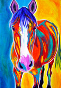 Stylized Paintings - Horse - Pistol by Alicia VanNoy Call