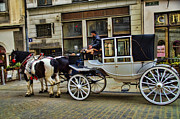 Horse And Carriage Prints - Horse and Carriage  Print by Jon Berghoff