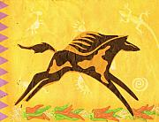Simplistic Originals - Horse Hopping over Jalopenos by Anne-Elizabeth Whiteway