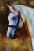Animal Digital Art - Horse of Colour by Michelle Wrighton