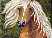 Frances Gillotti - Horse Painting Blondie