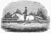 1851 Photos - Horse Racing, 1851 by Granger