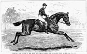 Horse Racing, 1880s Print by Granger