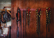 Saddle Photos - Horse Trainer - Jingle Bells by Mike Savad