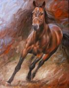 Horse Artwork Art - Horse2 by Arthur Braginsky