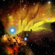 Comet Prints - Horsehead Nebula Print by Corey Ford