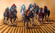 Worldwide Art Gallery Art - Horses by Shanju Azhikode