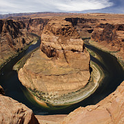 Page Digital Art - Horseshoe Bend by Mike McGlothlen