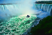 Niagara Framed Prints - Horseshoe Falls Niagara Framed Print by Lawrence Christopher