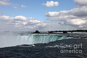 Horseshoe Falls Framed Prints - Horseshoe Falls Framed Print by Ted Kinsman