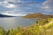 Horsetooth Framed Prints - Horsetooth Dam CO Framed Print by James Steele