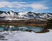 Horsetooth Framed Prints - Horsetooth Reservoir Framed Print by Harry Strharsky