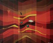 Horus Eye Print by Alberto D-Assumpcao