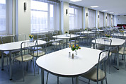 Cafeteria Photo Prints - Hospital Cafeteria Diner Refreshments Print by Jaak Nilson