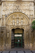 Door Sculpture Photos - Hospital of San Sebastian Archway by Artur Bogacki