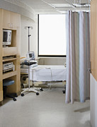 Care Facility Framed Prints - Hospital Room Framed Print by Andersen Ross