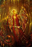 Archangel Metal Prints - Host of Holies with One Swing Concludes Metal Print by Stephen Lucas