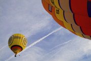 Ballooning Prints - Hot-air Balloning Print by Heiko Koehrer-Wagner