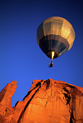 Four Corners Photos - Hot Air Balloon 1 by Bob Christopher