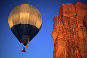 Four Corners Photos - Hot Air Balloon 2 by Bob Christopher