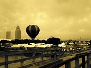 Hot Air Balloon Print by Floyd Smith