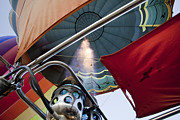 Extreme Sport Prints - Hot air balloon gas burner  Print by Shay Velich