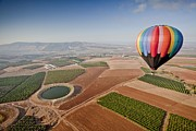 Extreme Sport Posters - Hot Air Balloon Poster by Photostock-israel