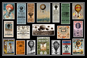 Hot Air Balloons Framed Prints - Hot Air Balloon Posters Framed Print by Andrew Fare