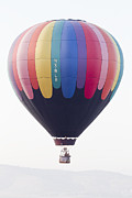 Patterned Prints - Hot air balloon  Print by Shay Velich