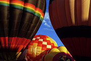 Rainbow Colors Posters - Hot Air Balloons 19 Poster by Bob Christopher