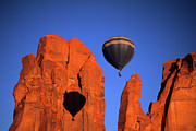 Four Corners Photos - Hot Air Balloons 6 by Bob Christopher