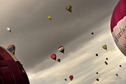 Weightless Prints - Hot air balloons Print by Angel  Tarantella