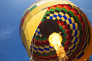 Inflation Photo Prints - Hot Air Print by Rick Berk